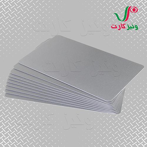 کارت خام متالیک PVC